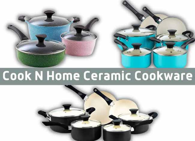 Cook N Home Ceramic Cookwar