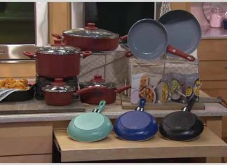 GreenPan Cookware Set with Ceramic Nonstick